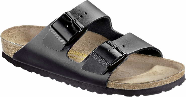 ARIZONA  NL (Birkenstock-Arizona-Leather-Black)